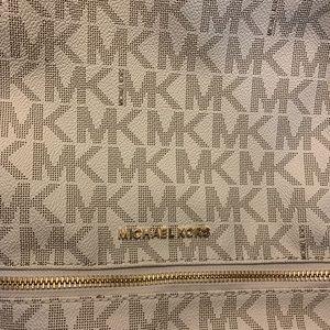 Michael Kor's Rhea Monogram Back Pack